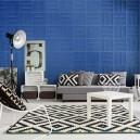 Tapet fonoabsorbant aplicat in living room