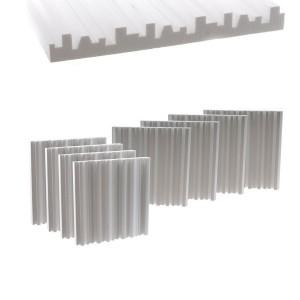 Metro Difusor - Difuzer pentru reflectie controlata a sunetului